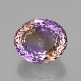 thumb image of 45.3ct Oval Facet Bi-Color Ametrine (ID: 426439)