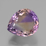 thumb image of 13.9ct Pear Facet Bi-Color Ametrine (ID: 433545)