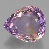 thumb image of 17ct Pear Facet Bi-Color Ametrine (ID: 433806)