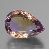 thumb image of 25.3ct Pear Facet Bi-Color Ametrine (ID: 434529)