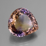 27.15 ct Pear Facet Bi-Color Ametrine Gem 20.51 mm x 19.2 mm (Photo B)
