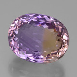 thumb image of 10.9ct Oval Facet Bi-Color Ametrine (ID: 434746)