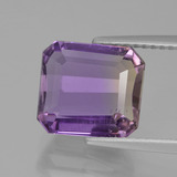 thumb image of 4ct Octagon Facet Bi-Color Ametrine (ID: 435400)
