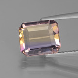thumb image of 2.7ct Octagon Facet Bi-Color Ametrine (ID: 435612)