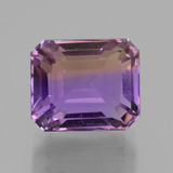 thumb image of 12ct Octagon Facet Bi-Color Ametrine (ID: 435879)
