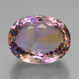 thumb image of 39.3ct Oval Portuguese-Cut Bi-Color Ametrine (ID: 439465)