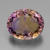 thumb image of 37.1ct Oval Portuguese-Cut Bi-Color Ametrine (ID: 439467)