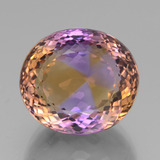 thumb image of 36.6ct Oval Portuguese-Cut Bi-Color Ametrine (ID: 439468)