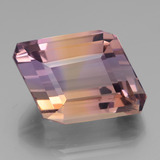 thumb image of 34ct Rhomb Facet Bi-color Ametrine (ID: 439469)