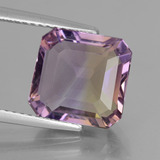 thumb image of 5.1ct Octagon Facet Bi-Color Ametrine (ID: 441403)