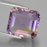thumb image of 6.7ct Octagon Facet Bi-Color Ametrine (ID: 441407)