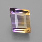 thumb image of 6.7ct Fancy Facet Bi-Color Ametrine (ID: 441608)