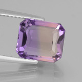 thumb image of 4.1ct Octagon Facet Bi-Color Ametrine (ID: 441704)