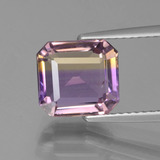 thumb image of 2.8ct Octagon Facet Bi-Color Ametrine (ID: 442631)