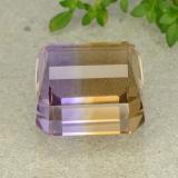 32.59 ct Octagon Step Cut Bi-color Ametrine Gem 17.15 mm x 16.7 mm (Photo C)