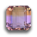 thumb image of 37.6ct Octagon Step Cut Bi-Color Ametrine (ID: 459077)