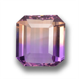 thumb image of 29.4ct Octagon Step Cut Bi-Color Ametrine (ID: 459093)