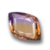 thumb image of 34.8ct Rhomb Facet Bi-color Ametrine (ID: 459097)