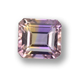 thumb image of 2.2ct Octagon Step Cut Bi-Color Ametrine (ID: 459541)