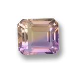thumb image of 2.2ct Octagon Step Cut Bi-Color Ametrine (ID: 459557)