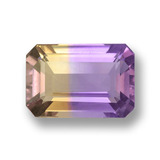 thumb image of 3.8ct Octagon Step Cut Bi-Color Ametrine (ID: 459590)