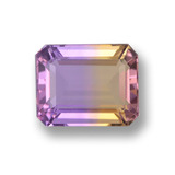 thumb image of 3.2ct Octagon Step Cut Bi-Color Ametrine (ID: 459742)