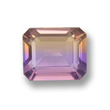 thumb image of 3.7ct Octagon Step Cut Bi-Color Ametrine (ID: 459758)