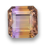 thumb image of 13.9ct Octagon Step Cut Bi-Color Ametrine (ID: 461683)
