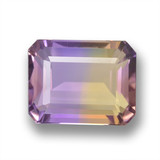 thumb image of 4.2ct Octagon Step Cut Bi-Color Ametrine (ID: 461911)