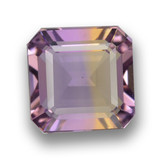 thumb image of 3.2ct Octagon Step Cut Bi-Color Ametrine (ID: 461941)