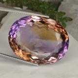 thumb image of 45.6ct Oval Facet Bi-Color Ametrine (ID: 465681)