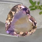 thumb image of 15.1ct Heart Facet Bi-Color Ametrine (ID: 470203)