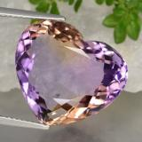 thumb image of 17.5ct Heart Facet Bi-Color Ametrine (ID: 470329)