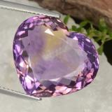 thumb image of 17.5ct Heart Facet Bi-Color Ametrine (ID: 470361)