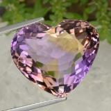 thumb image of 15.5ct Heart Facet Bi-Color Ametrine (ID: 470362)