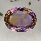 thumb image of 39.3ct Oval Portuguese-Cut Bi-Color Ametrine (ID: 473963)