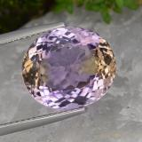 thumb image of 9.1ct Oval Facet Bi-Color Ametrine (ID: 475377)