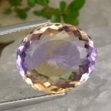 thumb image of 8.7ct Oval Facet Bi-Color Ametrine (ID: 476506)