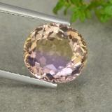 thumb image of 5.4ct Oval Facet Bi-Color Ametrine (ID: 481620)