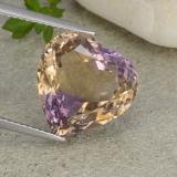 thumb image of 8.2ct Heart Facet Bi-color Ametrine (ID: 483867)