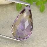 thumb image of 5.4ct Briolette with Hole Bi-Color Ametrine (ID: 484467)