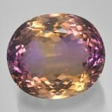 thumb image of 57.7ct Oval Facet Bi-color Ametrine (ID: 506037)