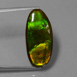 thumb image of 10.9ct Fancy Cabochon Multicolor Ammolite (ID: 451527)