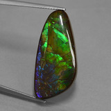 thumb image of 16.8ct Fancy Cabochon Multicolor Ammolite (ID: 451615)