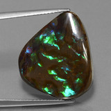 thumb image of 16.8ct Pear Cabochon Multicolor Ammolite (ID: 452763)