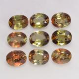 thumb image of 2.9ct Oval Facet Multicolor Andalusite (ID: 202610)