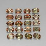 0.41 ct Oval Facet Multicolor Andalusite Gem 5.77 mm x 4.1 mm (Photo B)