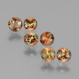 thumb image of 1.1ct Round Facet Multicolor Andalusite (ID: 390722)