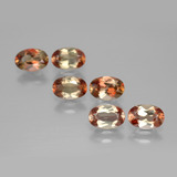 thumb image of 2.7ct Oval Facet Orangey Brownish Andalusite (ID: 390966)