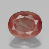 thumb image of 3.3ct Oval Facet Honey Red Andesine Labradorite (ID: 335776)